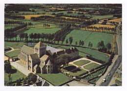 50 LESSAY Vers Coutances N°204 Ensemble De L'Abbaye Et De L'Eglise Romane En 1988 - Coutances