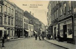 Diest Marché Au Beurre - Botermarkt Circulée En 1921 - Diest