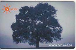 BOSNIA(chip) - Tree(50 Units), Used - Bosnië