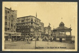 +++ CPA - DE PANNE - La Digue Et Le Kiosque    // - De Panne