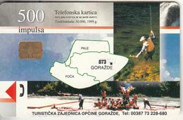 BOSNIA - Goražde(500 Units), Used - Bosnië