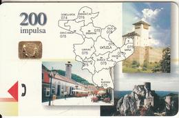 BOSNIA - Tuzla(200 Units), Used - Bosnië
