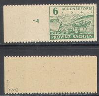 3220.1 ✅ Agrarian Reform WWII WW2 Soviet Occupation Local Province Saxony 1945 Germany 1v Mi.85waB MNH ** - Soviet Zone