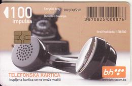 BOSNIA - Telephone(100 Units), Used - Bosnia