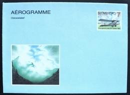 1993 Slovakia Aerograma Aerogramme Mint  Postal Airmail Avion Aircraft Aviation Aviao Route - Ganzsachen