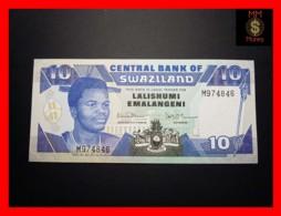SWAZILAND 10 Emalangeni 1990 P. 20 A  UNC - Swaziland