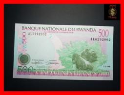 RWANDA 500 Francs 1.12.1998  P. 26  UNC - Rwanda