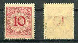 D. Reich Michel-Nr. 340Pb Postfrisch (früher 340F) - Geprüft - Deutschland