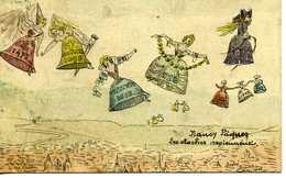 Carte Postale Humoristique Nancy Paques Les Cloches Reviennent - Nancy