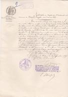 LA CHAPELLE ROYALE EXTRAIT DU REGISTRE DES NAISSANCES DE MR TACHOT MR SILY INSTITUTEUR A LA BAZOGE GOUET ANNEE 1823 - France