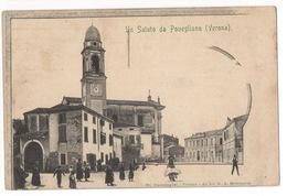 Cartolina-Postcard, Viaggiata (sent), Povegliano, Verona - Verona