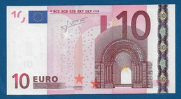 GRECIA - 2002 - BANCONOTA DA 10 EURO TRICHET SERIE Y (N024E3) - NON CIRCOLATA (FDS-UNC) - IN OTTIME CONDIZIONI. - 10 Euro