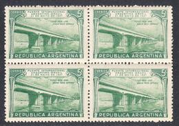 Argentina 1947, Mint No Hinge, Block, Sc# , SG ,Yt 484 - Argentina