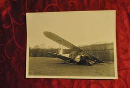 Aviation Photo Photographie Avion Accidenté à Identifier - Aviation