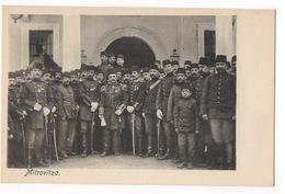 Cartolina-Postcard, Viaggiata (sent), Mitrovitza, Soldati E Il Re - Kosovo