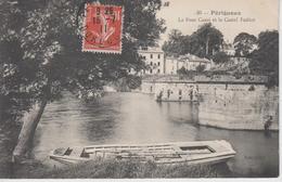 CPA Périgueux - Le Pont Cassé Et Le Castel Fadèze - Périgueux