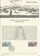 Musée Atlantique Port-Louis :Lorient. 1,45 F . Premier Jour. Paris.. Collection Historique Du Timbre.1976. - Documenti Della Posta