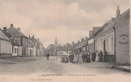 HARBONNIERES Entrée De La Rue D'Amiens - Other Municipalities