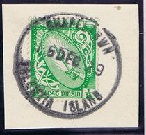 Ireland Kerry CHAPELTOWN VALENTIA ISLAND Rubber Climax Datestamp On Sword Halfpenny 16 DEC.29 - Irlande