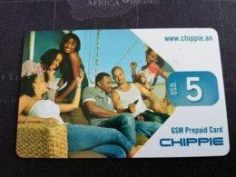 ST MAARTEN DUTCH $5,- CHIPPIE   FINE  USED      ** 1727** - Antille (Olandesi)