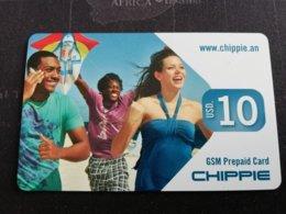 ST MAARTEN DUTCH $10,- CHIPPIE   FINE  USED      ** 1728** - Antille (Olandesi)