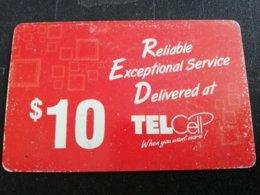 ST MAARTEN DUTCH $10,- TEL CELL RED    FINE  USED      ** 1729** - Antille (Olandesi)