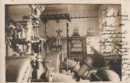 Nozeroy - Usine Electrique - Salle Des Machines - Carte Photo - Autres Communes