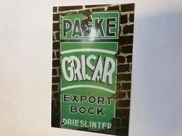 Afgestempeld 12/1/2006 Postkaart Emailbord Grisar Paeke Export Bock Drieslinter Brouwerij Brouwer - Linter