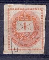 200034627  HUNGRIA  YVERT  T.P.J. Nº  3 - Paketmarken