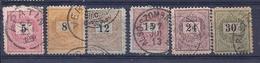 200034630  HUNGRIA  YVERT  Nº  26/27/29/30/32/33  (B) D-11 1/2 - Hungría