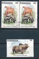 °°° RWANDA - Y&T N°866/67 - 1978 °°° - Rwanda