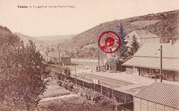 FALAEN - La Gare Et Vue De L'hotel Cobut - Onhaye