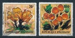 °°° RWANDA - Y&T N°947/48 - 1980 °°° - Rwanda