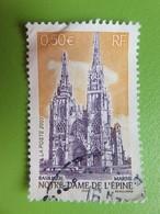 Timbre France YT 3579 - Basilique Notre-Dame De L'Epine (Marne) - 2003 - France