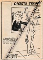 HUMOUR (1976) : Objets Trouvés, Femme Nue, Employé, Parapluie, Chapeau, Vase, - Non Classés