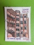 Timbre France YT 3390 - Le Vieux-Lyon - Les Traboules - 2001 - Cachet Rond - France