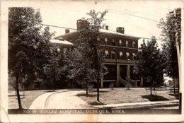 Iowa Dubuque Finley Hospital Real Photo - Dubuque
