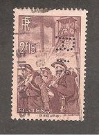 Perforé/perfin/lochung France No 390 B.I.C Banque Franco-Chinoise Pour Le Commerce Et L'Industrie - Perfin
