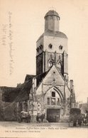 CPA - 51 - VERNEUIL - Ancienne Eglise Saint-Jean - Halle Aux Grains - Autres Communes