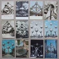 Expo 58 - Bruxelles - Brussel - 12 Cartes / Kaarten - Atomium - Expositions
