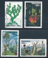 °°° RWANDA - Y&T N°1328/31 - 1997 °°° - Rwanda