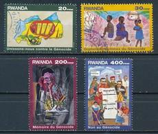 °°° RWANDA - Y&T N°1332/35 - 1999 °°° - Rwanda