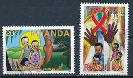 °°° RWANDA - Y&T N°1336/37 - 2003 °°° - Rwanda