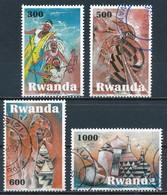 °°° RWANDA - Y&T N°1341/44 - 2010 °°° - Rwanda