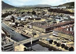 Saint Die  Le Grand Pont Sur La Meurthe   . CPSM GF   Edit Sofer. Vue Aerienne - Saint Die