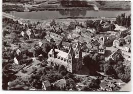 Mettlach  - Luftaufnahme - Ludwinuskirche - Kreis Merzig-Wadern