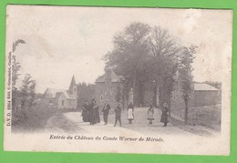RIXENSART   -   Entrée Du Château Du Comte Werner De Mérode - Rixensart