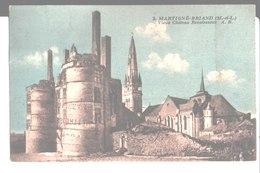 2. Martigné Briand. Vieux Château Renaissance. à Mme Auffray à Angers. Phototypie A. Bruel Angers. 1928. - Sonstige Gemeinden