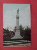 Soldiers & Sailors Monument    New Jersey > Elizabeth >ref 4020 - Elizabeth