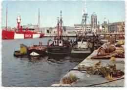 Dunkerque- Le Bateau Phare A Quai. Edit La Cigogne. Ecrite 1964. ***Un Trou De Punaise*** - Dunkerque